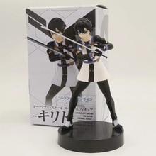 цены 2018 SAO Sword Art Online Ordinal Scale Kirigaya Kazuto Kirito Figure PVC Anime Figure Collectible Model Toys for Boys