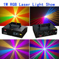 High Power 1000mw RGB Dmx  Laser Moving Head Lights Wholesale