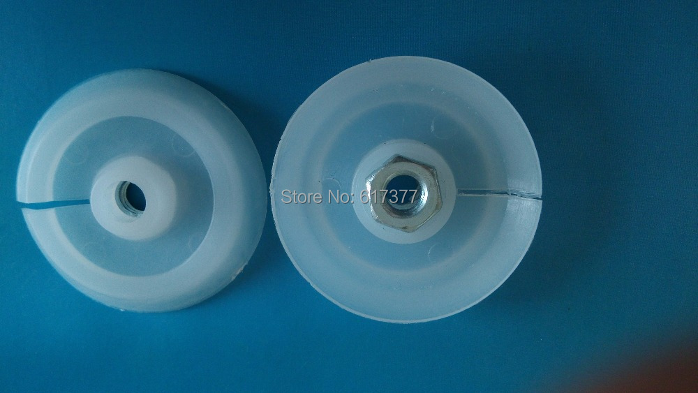 Economy And Popular Type Plastic Push Disk For Sausage Caulking Gun Plastic Piston For PU Sealant Gun