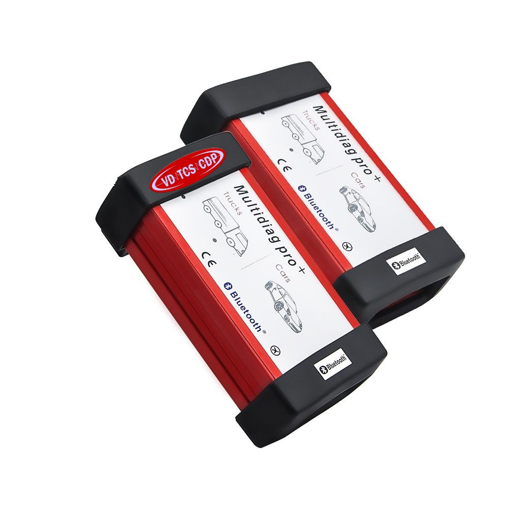 Image 3 - DHL Free! (2016 R0/2015 R3)Red Multidiag Pro with Bluetooth VD TCS CDP+ 21 languages+FULL set 8pcs CAR CABLES  for Cars & Trucks on