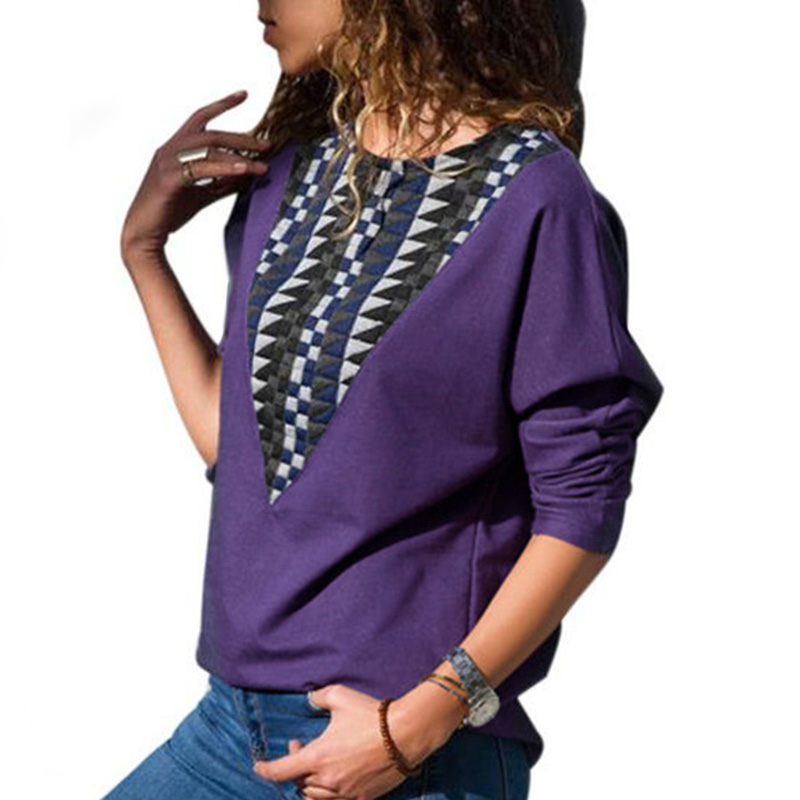 Causal Loose Batwing Sleeve Women Tops And Blouses Plus Size Long New Spring Shirts Black Army Green Purple Top Blusas