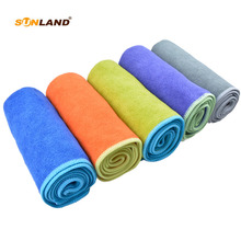 20PC Microfiber Hair Drying Towel Turban Wrap Towels Microfibre Bath Travel Camping Sports Cloth Towel Supplier
