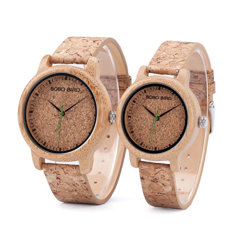 Relógio Cork Bamboo