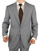 Custom men's suit the latest fashion style slim fit the groom suit business leisure formal interview twinset jacket + pants