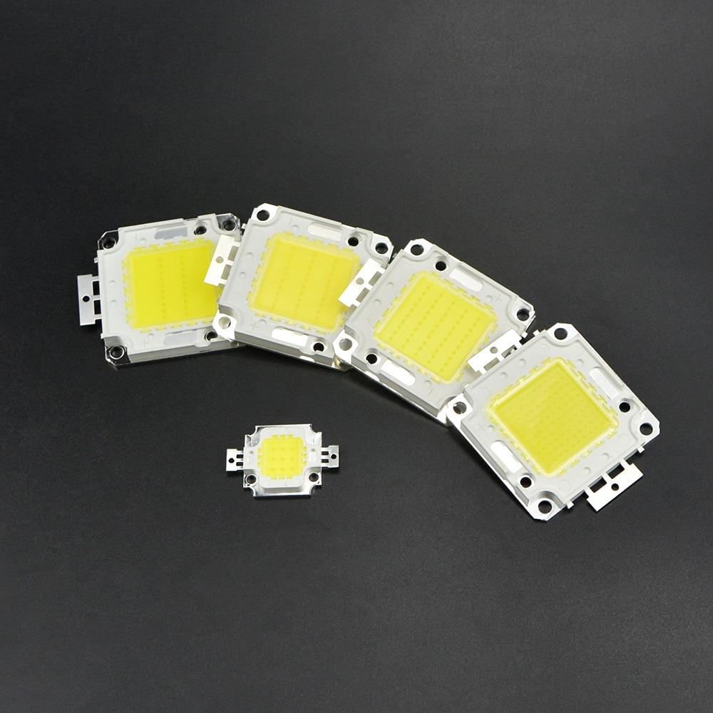 1 шт. Ультра-яркий 10 Вт 20 Вт 30 Вт 50 Вт 100 Вт smd интегрированной удара светодиодные лампы Чип для Мощность прожектор Светодиодные лампы