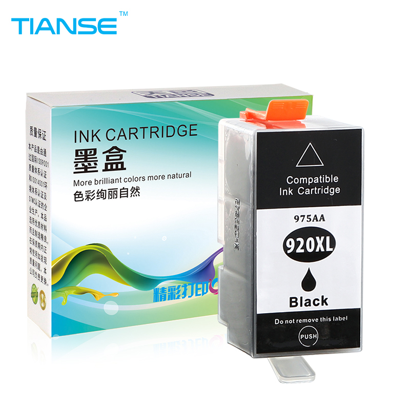 TIANSE full ink cartridge for HP 920 XL for HP 920XL for HP920 HP920XL for HP Officejet 6000 6500 6500A 7000 7500 7500A Printers compatible for hp920xl for hp 920xl for hp920 920 xl ink cartridge for hp officejet 6000 6500 6500a 7000 7500a e709 e710 printer