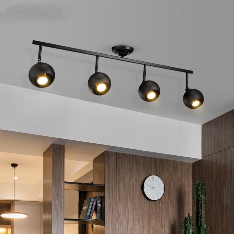 Ceiling Lamp Round Balck Lights