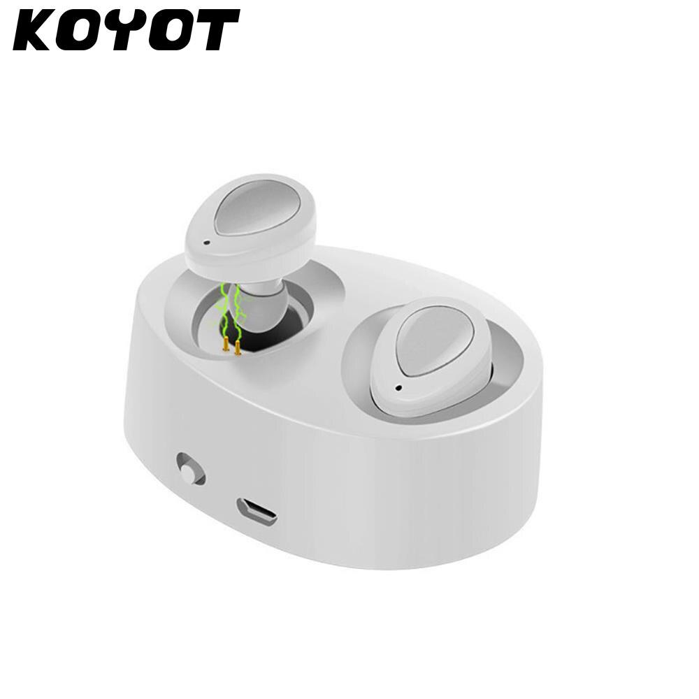 KOYOT Nouveau TWS-K2 MINI Double oreille Sans Fil Bluetooth 4.1 écouteur stéréo casque avec boîte de charge dock pour iphone samsung etc. ..