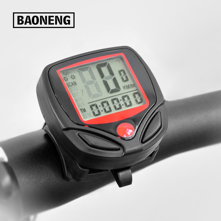 4bc5837c6c7 1 Set Bicycle Speedometer Bike Cycle Computer Wireless Cycling Computer  Bicycle Speed Bike Power Meter Cyclocomputer SA 08-in Bicycle Computer from  Sports ...