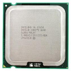 إنتل الأساسية 2 رباعية النواة Q9650 المقبس LGA 775 (3.0 Ghz/12 M/1333 GHz) المقبس 775 سطح المكتب وحدة المعالجة المركزية