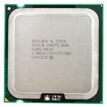 معالج Intel Core 2 رباعي النواة Q9650 مقبس LGA 775 (3.0 Ghz/12 M/1333 GHz) مقبس 775 وحدة معالجة مركزية لسطح المكتب