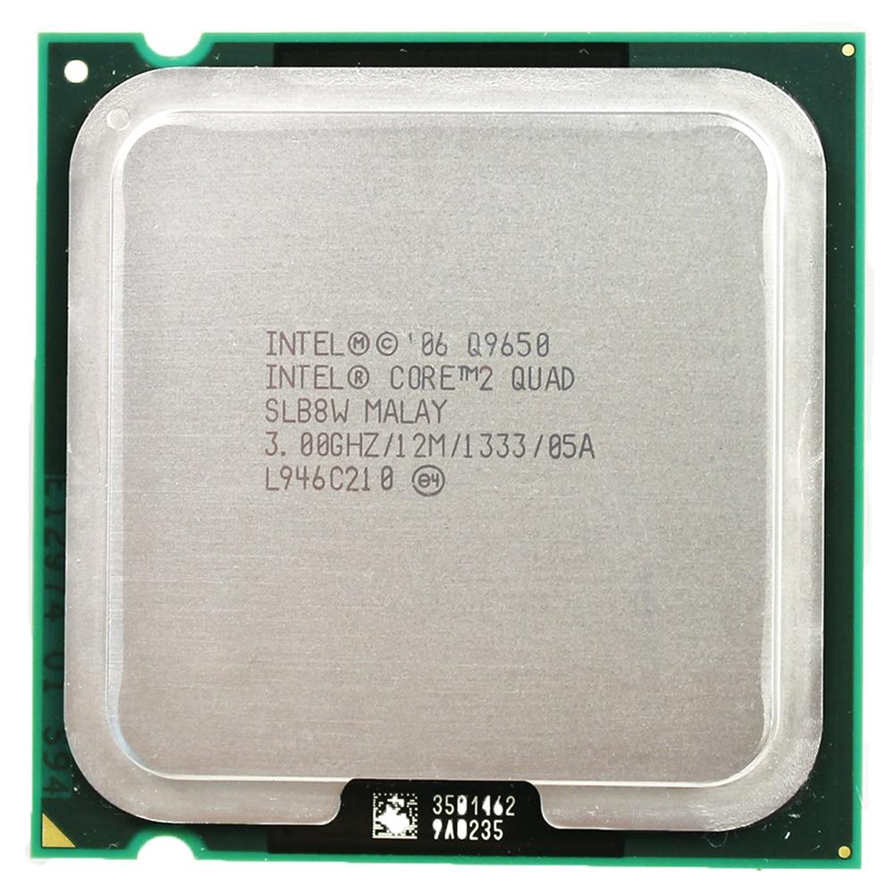 Intel Core 2 Quad-Core Processor Q9650  Socket LGA  775 (3.0Ghz/ 12M /1333GHz) Socket 775 Desktop CPU