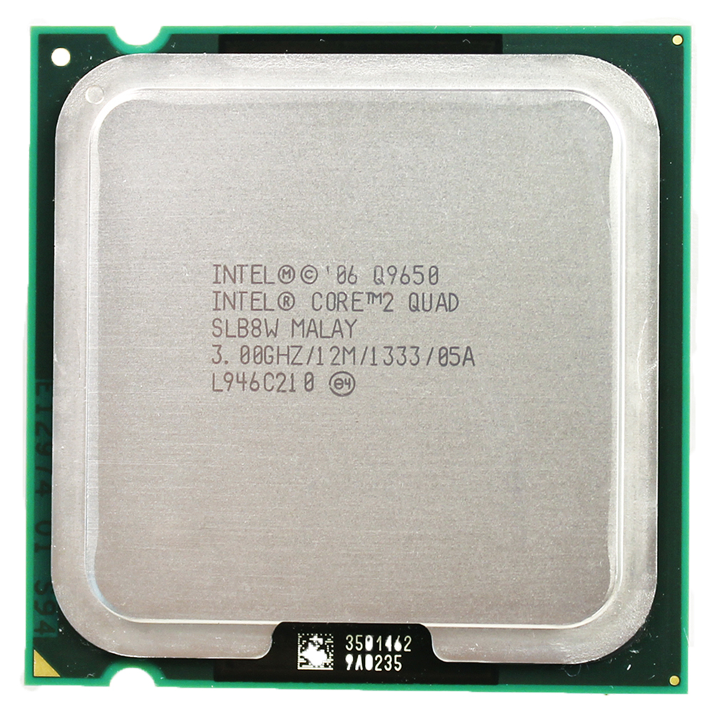 intel core 2 quad processor Q9650 socket LGA 775 (3,0 Ghz / 12 M / 1333 GHz) socket 775 desktop CPU
