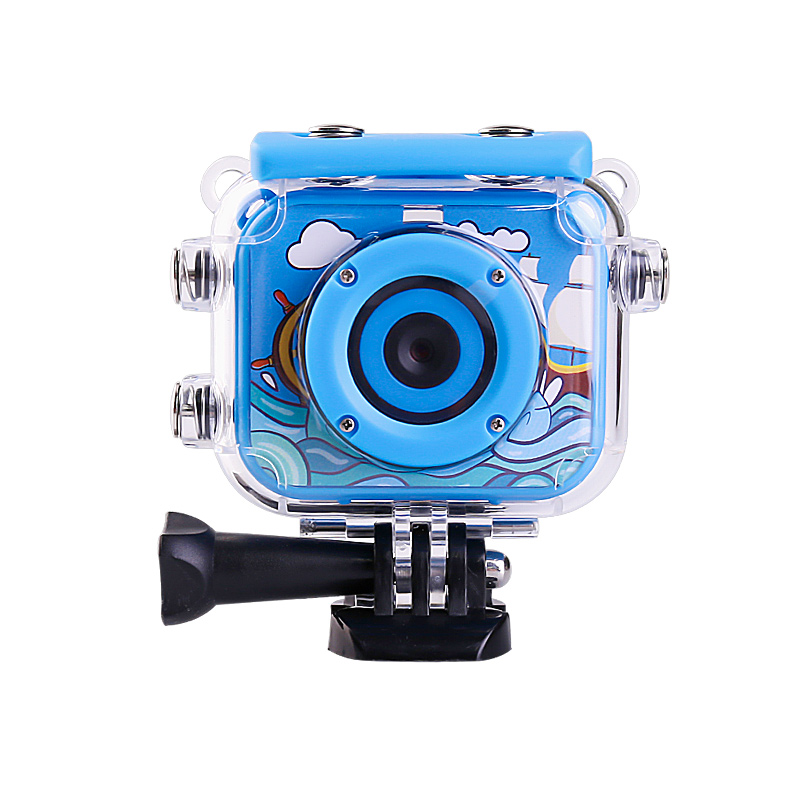 HTB1BlRBXUCF3KVjSZJnq6znHFXa3 High Quality Mini Kids Digital Camera Waterproof 30M 1080P Video 120D Camera Recoder Camcorder Gift For children Easy use