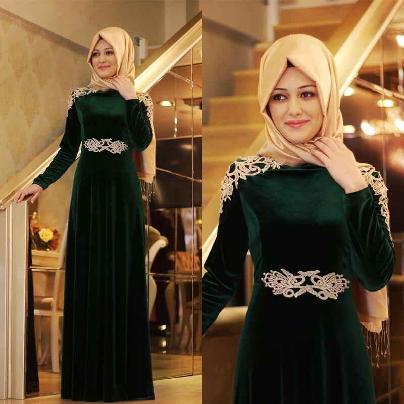 Arabic style maxi dresses