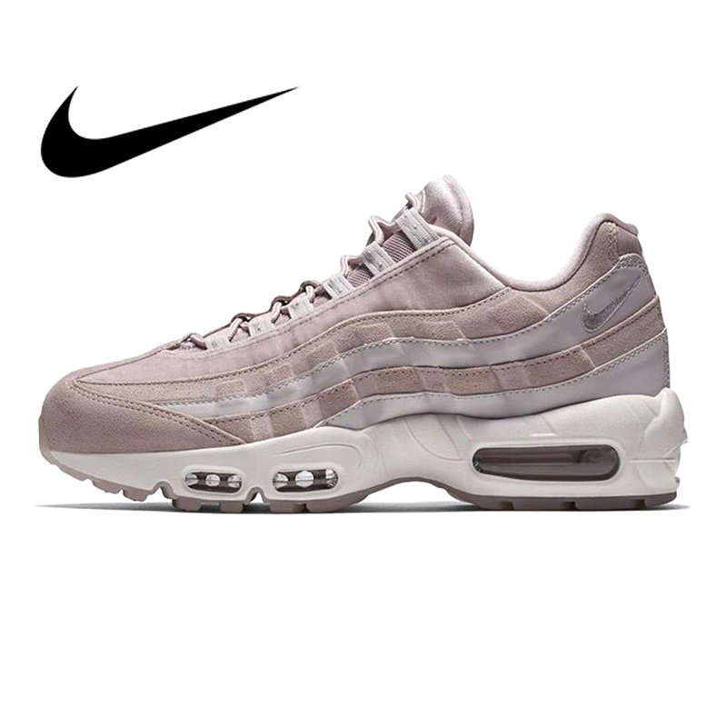 hot sale online 6b548 cee47 Original Et Authentique Nike Air Max 95 Essentiel Femmes chaussures de  course de Sport baskets d