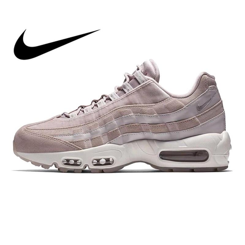 meet 30c98 544e3 US $112.47 |Aliexpress.com : Buy Original Authentic Nike Air Max 95  Essential Women's Running Shoes Sport Outdoor Sneakers Designer Athletic  2018 New ...
