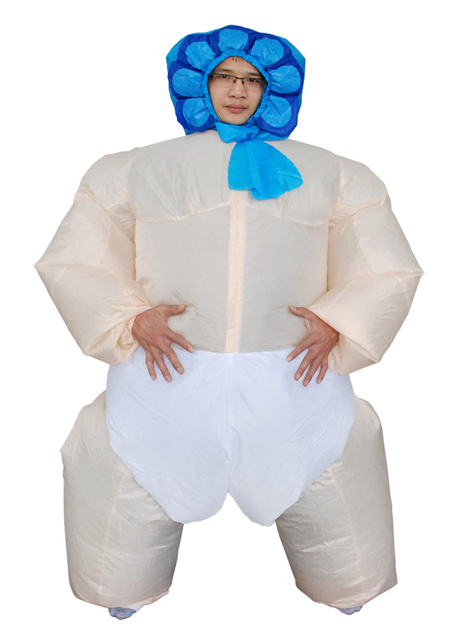 Cheap 1.5-2m Inflatable Baby Costumes For Adults Newest Baby Costumes For Halloween Polyester Inflatable  sc 1 st  AliExpress.com & Cheap 1.5 2m Inflatable Baby Costumes For Adults Newest Baby ...
