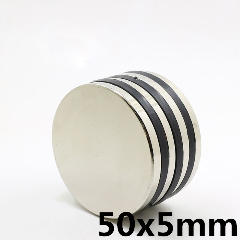 1PCS 50x5 mm Small Super Strong 50x5 Rare Earth Craft Permanet Magnet Round Neodymium Magnet 50mm*5mm1PCS 50x5 mm Small Super Strong 50x5 Rare Earth Craft Permanet Magnet Round Neodymium Magnet 50mm*5mm