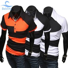 Bebling 2015 New Hot Casual Men s Clothing mens polo shirt brands Sport Plus Size Fitness