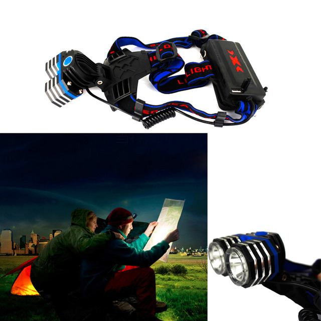4000LM 4 Modes Bright Light LED Headlamp Flashlight For Cycling Hiking Camping Hot Selling