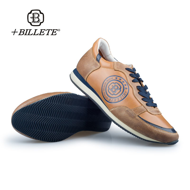+Billete Luxury Brand Hot Sale Breathable Soft Men Casual Genuine Leather Shoes Lace-up Flat Shoes Zapatillas Deportivas Hombre 2017 new summer breathable men casual shoes autumn fashion men trainers shoes men s lace up zapatillas deportivas 36 45