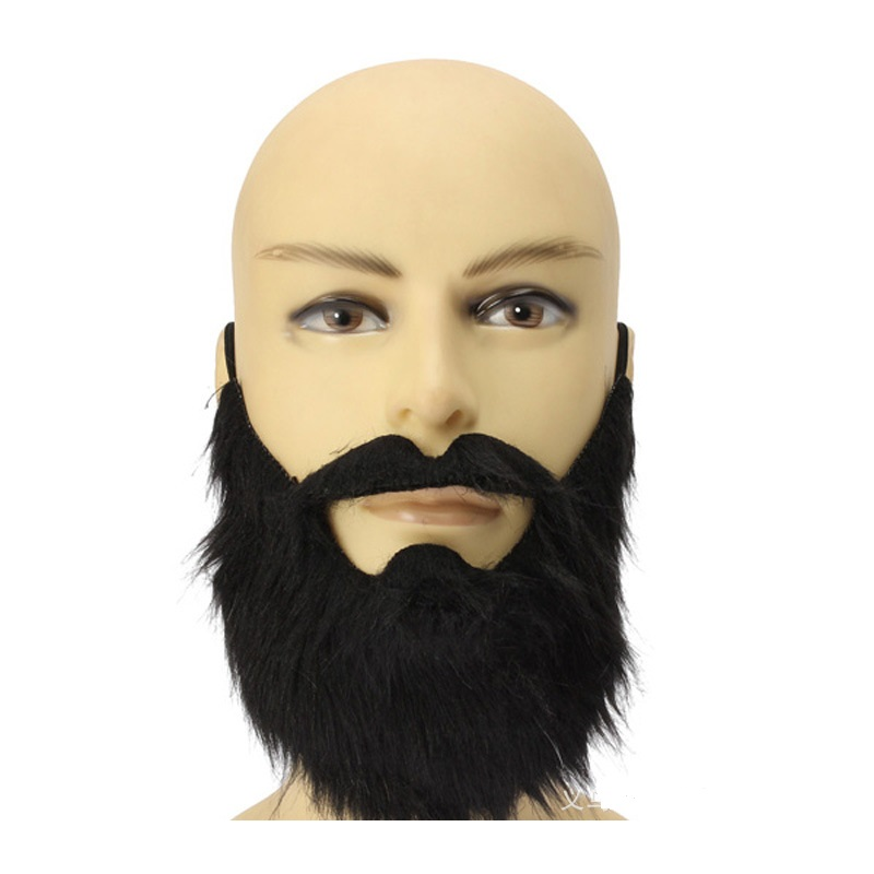 100pcslot new arrival fashion funny costume party male man halloween beard facial hair disguise - Halloween Fashion Games
