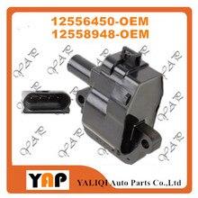 Новое высококачественное зажигание катушки для fitchevrolet C3500HD Корвет Camaro 5.7L 8.1L V8 12556450 12558948 1997-2004
