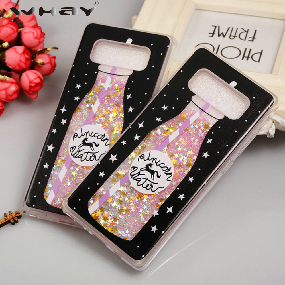 Quicksand Case For Samsung Galaxy Note 8 Cover Note8 Cute Bottle Silicone Case For Samsung Note 8 Coque Capa Fundas Note8 Cover Silicon Case For Samsung Case For Samsung Galaxycase For Samsung Aliexpress