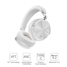 T4S Active Noise Wireless Bluetooth Headphones