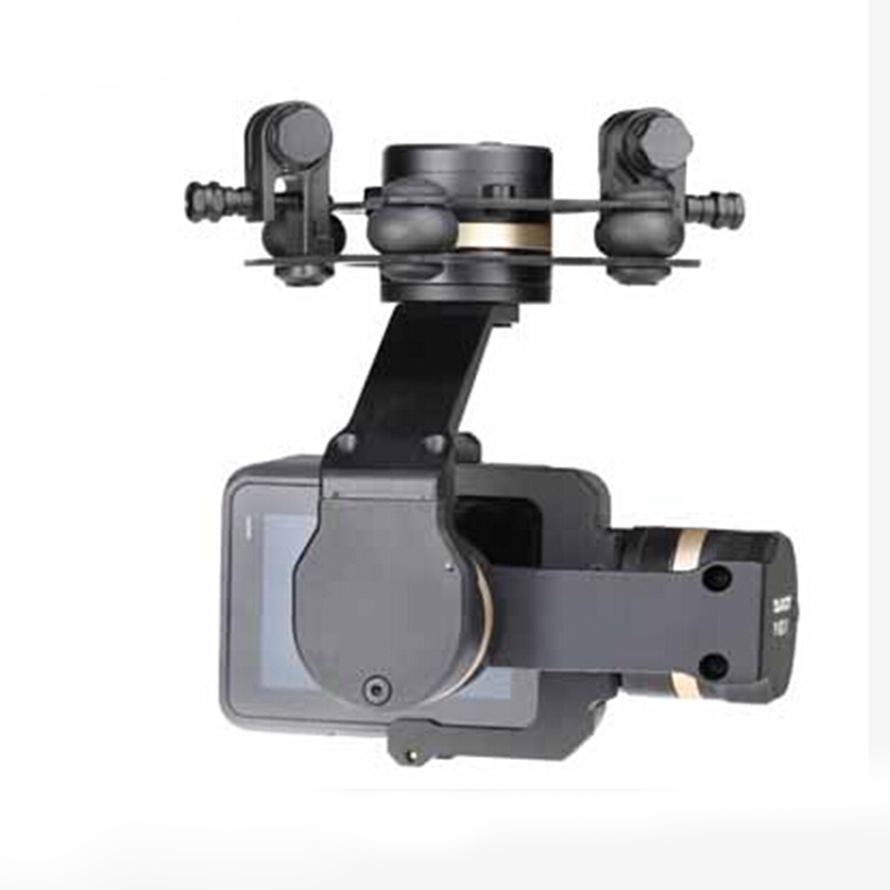 US $130 12 9% OFF|Tarot 3D V Metal 3 axis PTZ Gimbal for Gopro Hero 5  Camera Stabilizer TL3T05 for FPV System Action Sport Camera-in Parts &