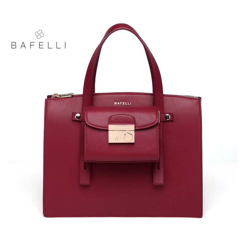 BAFELLI split leather bags for women composite bag Large capacity lady's bag business bags handbags women famous brands p p x split leather composite bag