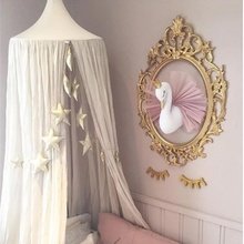 2018 Creative Decoration Children Room Swan Kids Childish Swan Decor Nordic Style Dolls Stickers To Dress Wall Decoration