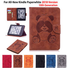 Чехол с пандой для Amazon, новинка, Kindle Paperwhite, 2018, чехол для Kindle Paperwhite, 4, 10 поколение, чехол для планшета