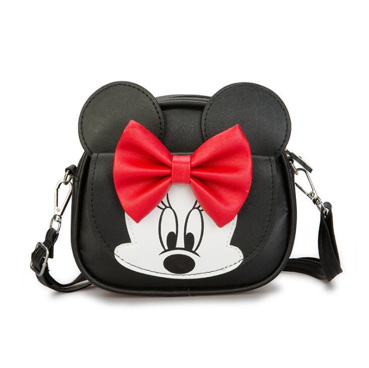 New Women Messenger Bag New Lovely Mickey Children Vintage Fashion Crossbody Bag girl single shoulder bag цена и фото
