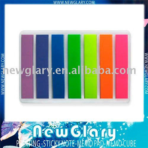 Free shipping post note it 7 color index