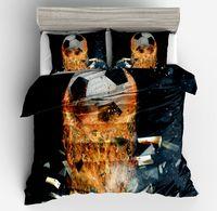 Sports Football 3D Print Bedding Set Comforters Coverlets Quilt Duvet Covers Single Twin Full Queen Super