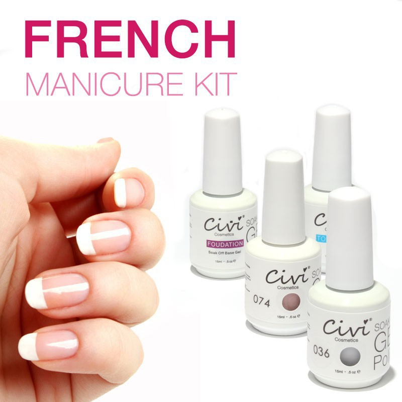 Civi Nail Gel Polish Soak Off Nail Gel UV 30 Days Long Lasting ...