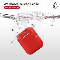 Auricolare Custodie Per Airpods 2 Coperchio di Protezione Senza Fili di Bluetooth del Trasduttore Auricolare Per Il Caso di Apple Airpods 2 Bella Accessori Del Sacchetto Del Sacchetto