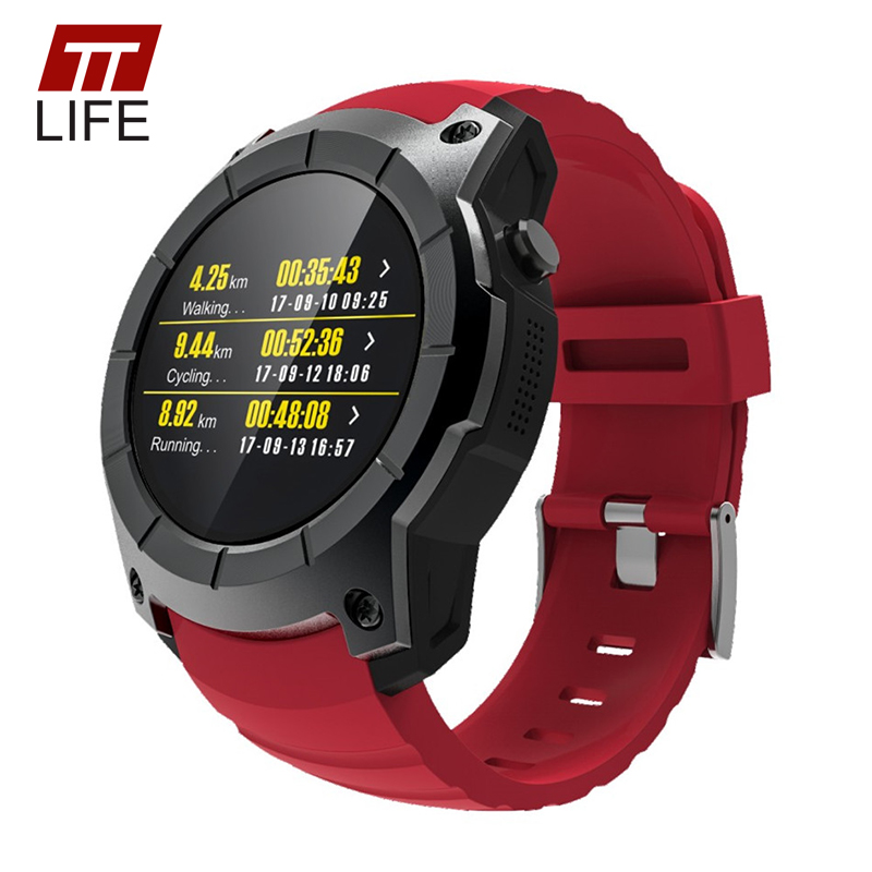 TTLIFE 2017 Sport GPS Tracker S958 Smart Watch Men Waterproof Pedometer Heart Rate Monitor Women Watches Luxury For IOS Android цена и фото