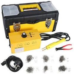 Car Bumper Repair Plastic Welder Kit 110V 220V Hot Stapler Plastic Welding With 600Pcs Welding Nails