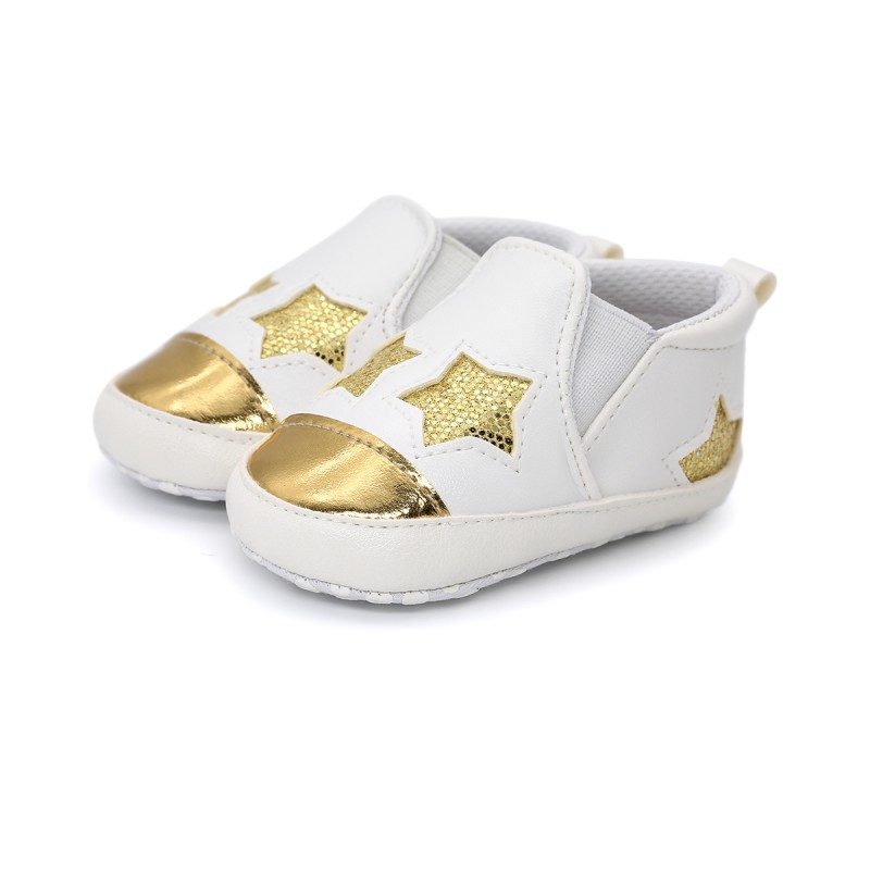 3 Colors Spring Autumn Kids Baby Soft Bottom Walking Shoes Boy Girl Striped Anti-Slip Sneakers For 0-18M baby