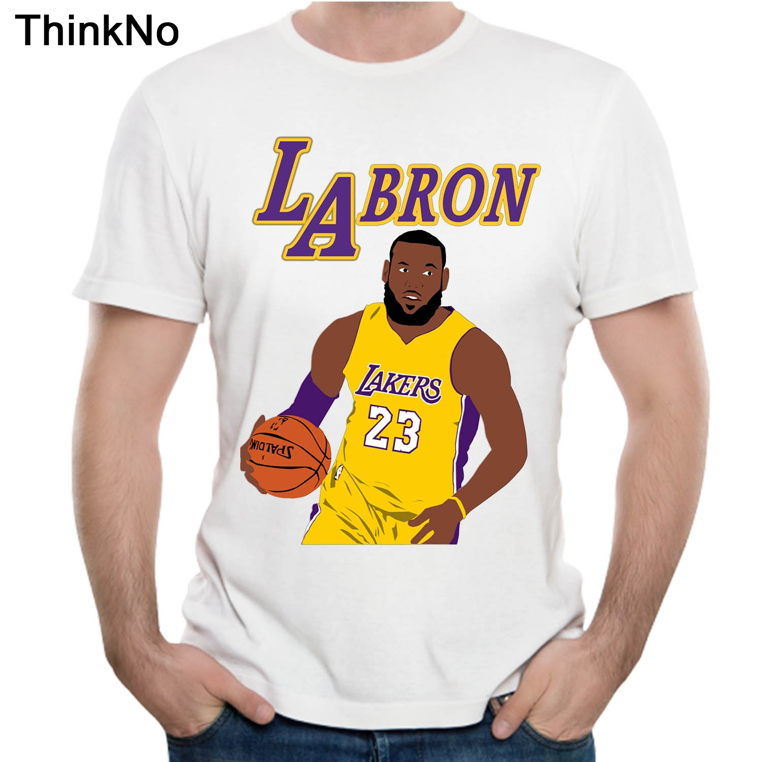 new product 1e1f5 82cd7 Awesome Lebron James Lakers 23 T Shirt Cool Man Soft Slim ...