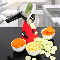 Multi function Vegetable Cutter Three in one Hand Grater Creative Drum type Slicer Household Kitchen Tools 26*13.2*27.5 cm