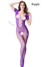 Sexy Lingerie intimate Mesh Tempting Perspective Bodysuit
