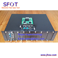 GEPON OLT, FTTH 2 PON port olt with PON optical modules, Dual power, Popular In market.