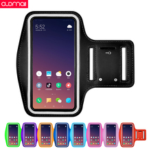 Sports arm bag Unisex Armband for Redmi k20pro note 8 7 Pro mi9se 6 running mobile phone Universal outdoor case