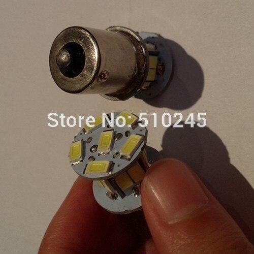 30X auto led car 1156 bulb led light 16 smd 5630 16 leds P21W 12v white Brake Tail Turn Signal Light Bulb Lamp free shipping