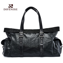 Difenise Design Saffiano Travel Men Handbags OL Style Wristlets the first layer of cowhide Clutch Leather High quality Bags