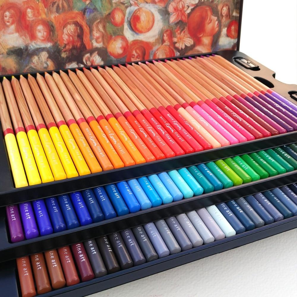 Marco Raffine Artist 3100 100 Color Pencils Set lapices de